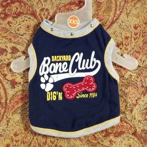 Backyard Bone Club Dog Shirt